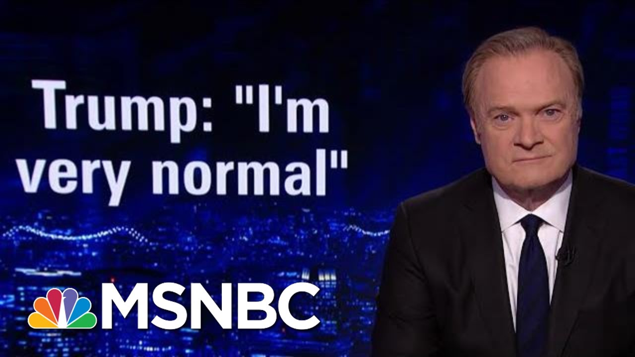 President Donald Trump's Day Of Strange And Confusing Statements | The Last Word | MSNBC