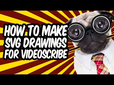 How To Make SVG Drawings For Videoscribe and Whiteboard Animations