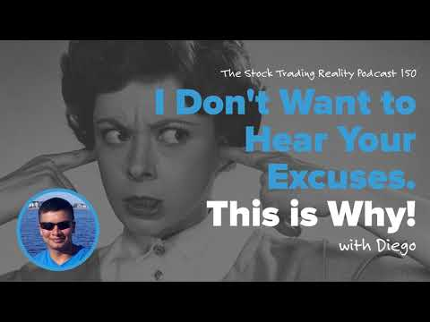 STR 150: I Don't Want to Hear Your Excuses. This is Why! (audio only)