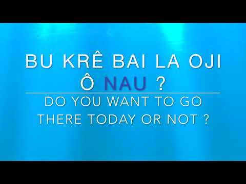 Learn Kabuverdianu ( Cape verdean Creole) Word of The Day - NAU
