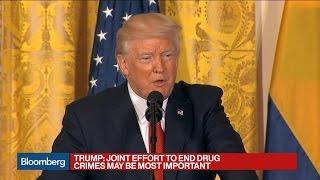 Trump Denies Russia Collusion, Says Probe Divides U.S.