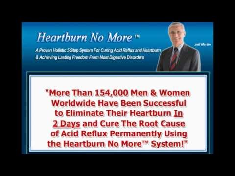 How to Treat Stop & Cure Heartburn Chronic Acid Reflux Permanently