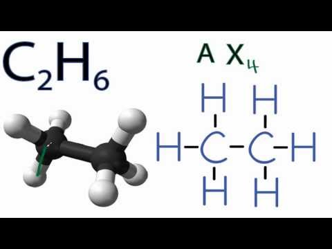 C2H6  Molecular Geometry / Shape and Bond Angles