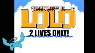 Adventures of Lolo Extra-Life Marathon Difficulty Challenge! Game #4