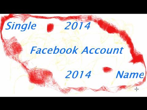 Single Facebook Name 100% Working 2014.