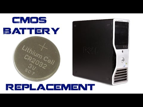 Dell Precision 390 CMOS Battery Replacement