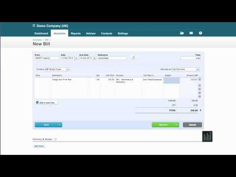 Xero Tutorial: Received Purchase Invoice Setup - Episode 18