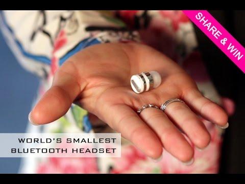 Dot - World's Smallest Bluetooth Earbud
