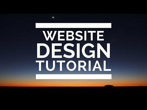 Web Design Tutorial: Start a website or blog with WordPress  - How To Make A Website #1