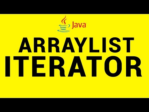 Iterator in Java using Arraylist Explained in 6 Mins - Java 18