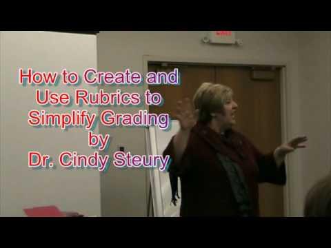 Rubrics to Simplify Grading