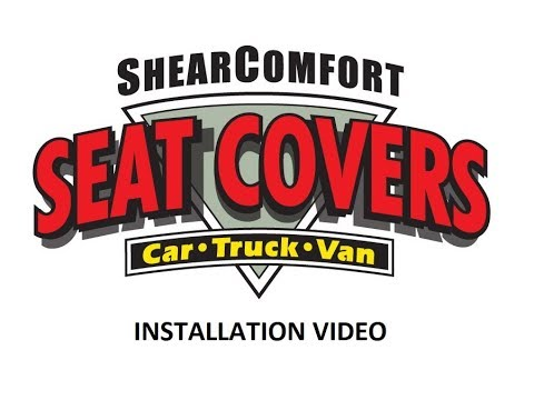 Car Seat Cover Installation: How to Install Seat Covers from ShearComfort