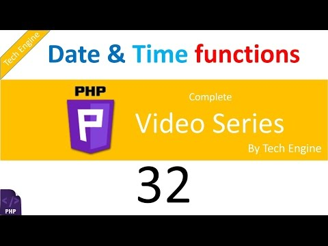 coding in php (Hindi) - 32 How to use Date and Time functions?