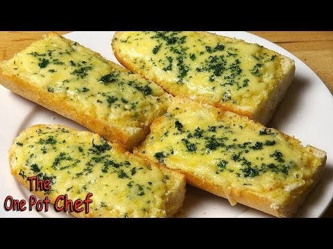 Easy Cheesy Garlic Bread | One Pot Chef