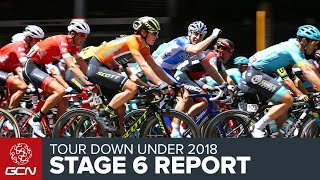 Tour Down Under 2018 | Stage 6 Report