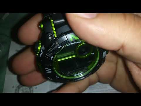 ARMITRON WATCH SET UP AND INSTRUCTIONS