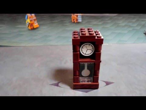 Lego Grandfather Clock Tutorial