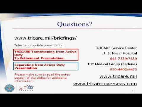 Tricare for Separating Military members