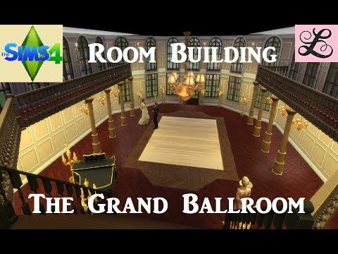 The Sims 4: Room Building - The Grand Ballroom