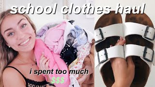 HUGE BACK TO SCHOOL TRY-ON CLOTHING HAUL! brandy melville, urban outfitters, F21, & more!