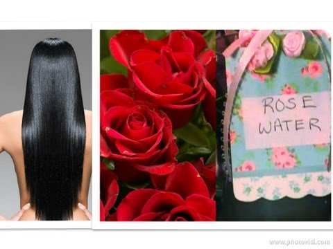 DIY : How to Make ROSE WATER for Hair Growth at Home Remedies for split ends Healthy Hair Treatment