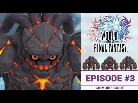 How To Catch Titan In World of Final Fantasy: Grimoire Guide #3