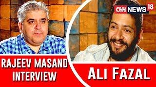 Ali Fazal interview with Rajeev Masand