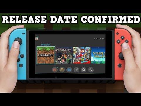 Minecraft Switch Bedrock RELEASE DATE + Aquatic Update NEWS