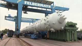 Riesig - 71,5 Meter lange Kolonne in Linz umgeschlagen