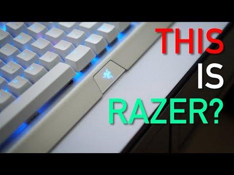 A WHITE Razer Keyboard? BlackWidow X Chroma Mercury Edition Review