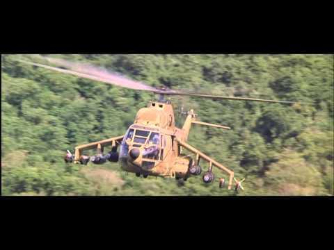 Rambo 2 Heli scene