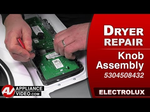 Electrolux Dryer -  Knob Assembly - Diagnostic & Repair