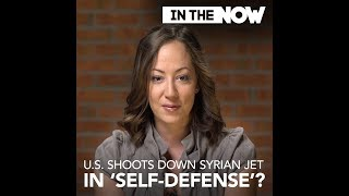 When will the Syrian government stop attacking US fighter jets illegally in Syria?