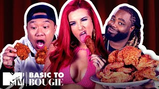 Lord, Thank You For This Chicken!! 🍗 ft. Justina Valentine   Basic to Bougie Season 2   MTV