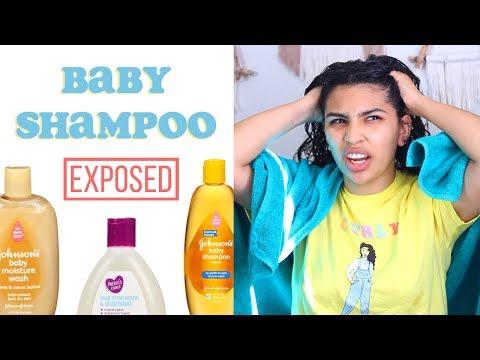 I Tried Baby Shampoo 🍼