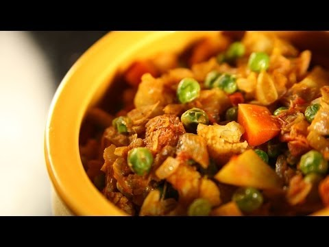 Vegetable Korma (Mixed Vegetables) By Archana