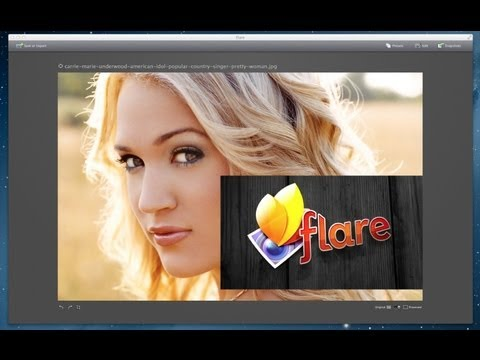 Easy Photo Editor For Your Mac - FLARE