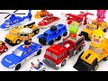 Mix Match Police Car Ambulance Fire Truck Save The Baby Shark PinkyPopTOY