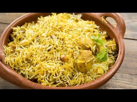 Aloo Biryani Recipe - Easy Restaurant Style Dum Aloo Biryani | Indian Main Course Recipes