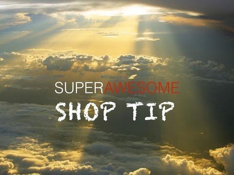 Super Awesome Shop Tip #1:  Better Glue Spreader