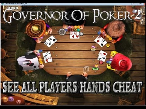 Governor Of Poker 2 PC- SEE ALL CARDS EXPLOIT,Chip, Money Hacks