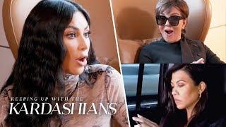 """Kim Kardashian Calls Kourtney a """"F--kin' Fake Humanitarian Hoe""""   KUWTK   E!"""