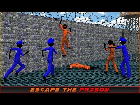 Stickman Prison Escape Story (by Black Cell Studio) / Android Gameplay HD