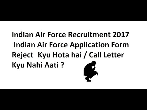 How To Apply Offline  For Indian Air force (Sarkarinaukri) 2017-18