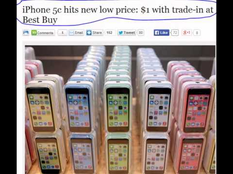 iPhone 5c Price touch $1 at Best Buy, Lowest Price Ever...