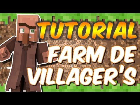 Minecraft Xbox One - Tutorial Farm de Villagers (Aldeões) - Eficiente no Survival