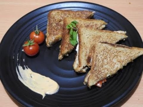 Bell Pepper & Cottage Cheese Sandwich