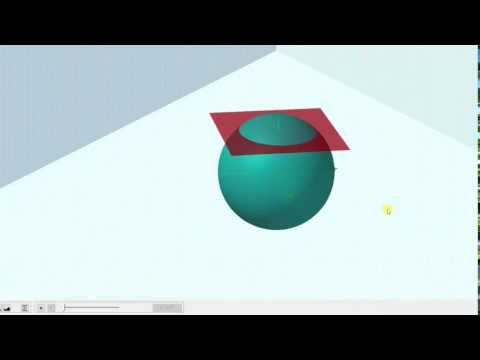Use a Triple Integral to Find the Volume of a Spherical Cap