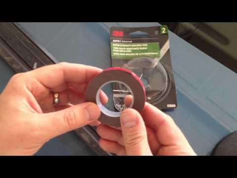 Car door trim how to & tips - 3M Scotch-Mount Molding Tape