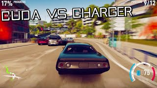 Fast & Furious | Plymouth Cuda Vs Dodge Charger